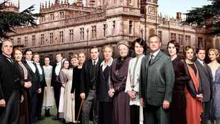 Cast members of the fourth season of the award-winning 'Downton Abbey'. Picture: Supplied
