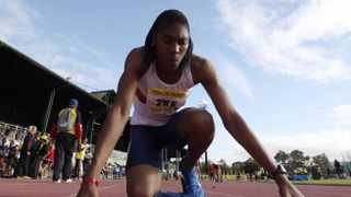 Caster Semenya claimed the 400- and 1 500-metre titles on day one of the South African University Championships on Friday.