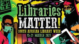"""Celebrate South African Library Week from March 15 to 21 March this year, with the theme """"Libraries Matter!"""""""