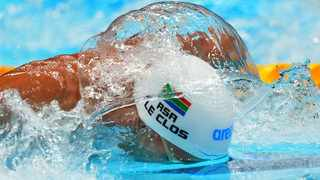 Chad Le Clos of South Africa in action the 200m butterful final. Photo: Aleksandra Szmigiel/Reuters