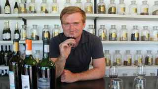 Charlie also gets to travel extensively, as the guest of winemakers the world over, keen to introduce him to their varietals. Picture: Supplied