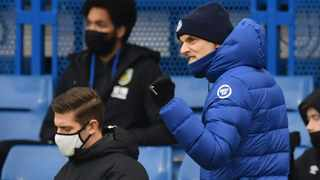 Chelsea manager Thomas Tuchel reacts during their Premier League game against Burnley at Stamford Bridge in London on Sunday. Photo: Justin Tallis/Reuters