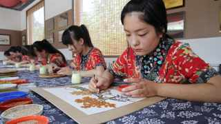 China is the world's largest developing country, with a population of 1.4 billion.