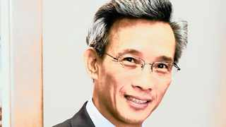 China's ambassador to South Africa, His Excellency Lin Songtian.