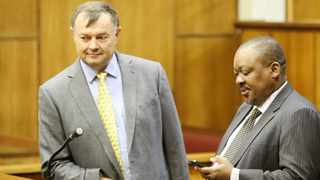 Christo Scholtz and John Block. Picture: Danie van der Lith/African News Agency (ANA) Archives
