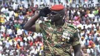 Colonel Mamady Doumbouya, the commander of Guinea's Special Forces Unit. Photo: Guinea Special Forces/Facebook.