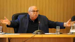 Community Safety MEC Albert Fritz had a rough ride in the legislature when members questioned the reach and competence of his department and the provincial safety plan's role in decreasing crime, specifically murder, on the Cape Flats. Picture: Ayanda Ndamane/African News Agency (ANA)