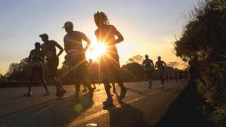 Comrades Marathon King, Bruce Fordyce, nine times winner of the worlds greatest ultra marathon, has warned the lead runners in Sundays 90th anniversary edition of the 87.7km event. Photo by: Rogan Ward/Reuters