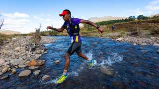 Comrades gold medallist Prodigal Khumalo is training for his first 100 Miler in New Zealand. Anthony Grote/Ultra-Trail Drakensberg