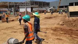Construction work is taking place at the Tshwane Automotive Special Economic Zone. Picture: Jacques Naude/African News Agency (ANA)