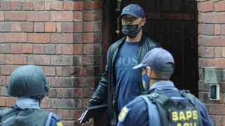 Controversial businessman and alleged underworld kingpin Nafiz Modack and his co-accused appeared briefly in the Blue Downs Regional Court on Monday. Picture Henk Kruger/African News Agency(ANA)