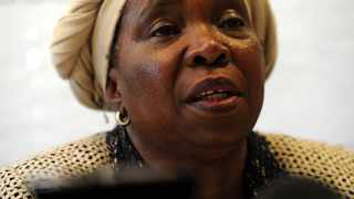 Cooperative Governance and Traditional Affairs Minister Nkosazana Dlamini Zuma. Picture: Werner Beukes/SAPA/African News Agency (ANA)