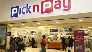 Customers at Pick n Pay in Carlton centre in Johannesburg. Photo: Leon Nicholas.