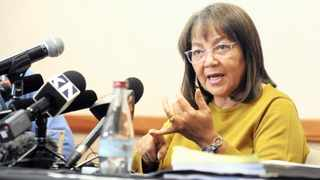 DISPATCHED: Patricia de Lille held a press conference following the Democratic Alliance announcing that it had revoked her DA membership.