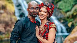 DR MUSA Mthombeni and his wife Liesl Laurie. Picture: Mog Communications.
