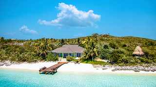 David Copperfield's Musha Cay and the Islands of Copperfield Bay is magical. Picture: Musha Cay and the Islands of Copperfield Bay.