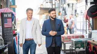 David Higgs and J'Something return as judges on 'My Kitchen Rules SA'. Picture: Supplied