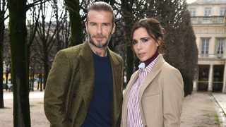 David and Victoria Beckham have installed a £7 000 (about R140 000) ice cream machine in their Cotswold home. Picture: Bang Showbiz