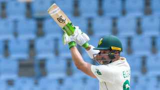 Dean Elgar lead from the front, along with Quinton de Kock as the pair helped the Proteas get back in contention against the West Indies in the second test. Photo: West Indies Cricket