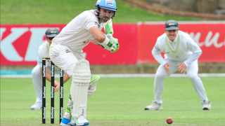 Dean Elgar of the Titans during day 2 of the 2020/21 4-Day Franchise Series game between the Warriors and the Titans held at St Georges Park in Port Elizabeth on 10 November 2020. Photo: Deryck Foster/BackpagePix