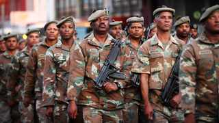 Defence and Military Veterans Minister Nosiviwe Mapisa-Nqakula said the budget cuts were making the defence force more unsustainable. Picture: Phando Jikelo / African News News Agency (ANA)