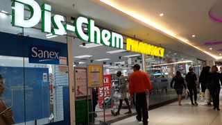 Dis-Chem pharmacy store. File Picture: Karen Sandison/African News Agency(ANA)