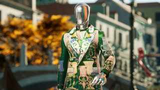 Dolce and Gabbana virtual suit. Picture: UNXD