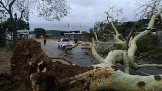 Durban storms caused havoc on Tuesday. Picture: Supplied