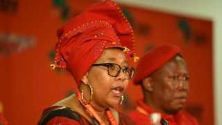 EFF National Chairperson Veronica Mente. Picture: I supplied