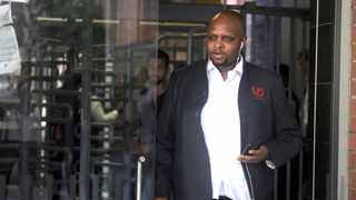 EFF deputy president Floyd Shivambu outside Cape Town Magistrate's Court where he appeared for his assault charge on journalist Adrian de Kock. Picture: Ayanda Ndamane/African News Agency (ANA)