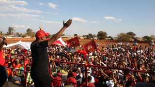 EFF leader Julius Malema campaign at Mookgophong Limpopo. Photo Oupa Mokena/Africannewsagency