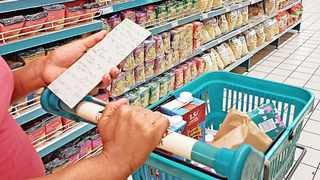 Eighty-four percent of respondents had cut down spending on essential items such as groceries, healthcare and beauty products to get by. Photo: African News Agency (ANA)