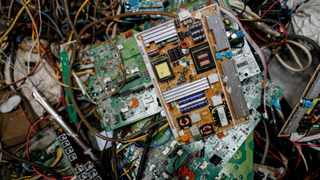 Electronic waste or e-waste from computers is pictured in a junk shop in Makati City, Metro Manila, Philippines. Picture: Reuters/Eloisa Lopez