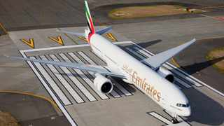 Emirates shares the latest on its flight operations to and from South Africa. Picture: supplied.