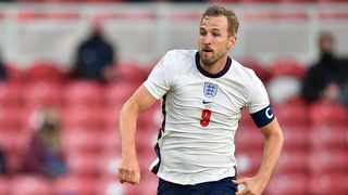 England's Harry Kane in action during their international friendly against Austria at the Riverside Stadium. Photo: Peter Powell/Reuters