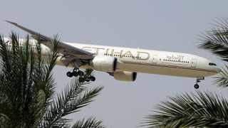 Etihad Airways has announced that it will be suspending flights between Abu Dhabi and South Africa for several months. Picture: AP