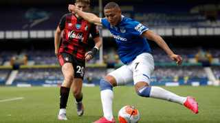 Everton's Richarlison says he wants to develop more at Everton. Picture: Clive Brunskill/Pool via AP