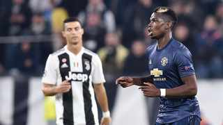 FILE - According to reports, Manchester United are keen to do an exchange deal that will see Cristiano Ronaldo move to Old Trafford and Paul Pogba head to Juventus. Photo: Alessandro di Marco/EPA