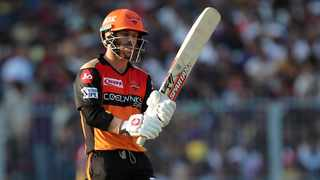 FILE - Australia's out-of-form opening batsman David Warner has been dropped from Sunrisers Hyderabad for Monday's Indian Premier League match. Photo: Indian Premier League/Twitter