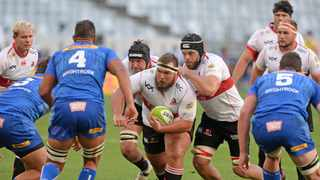 FILE - Carlu Sadie of the Lions during the 2021 Preparation Series game against the Stormers. Photo: Ryan Wilkisky BackpagePix