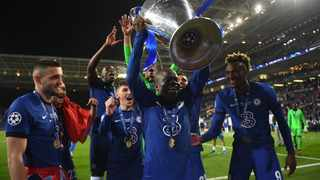 FILE - Chelsea's N'Golo Kante celebrates with the trophy after winning the Champions League. Photo: David Ramos/Reuters
