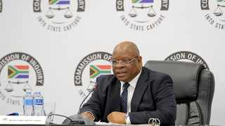 """FILE - Commission of Inquiry into State Capture chairperson Deputy Chief Justice Raymond """"Ray"""" Zondo. FILE PHOTO: Karen Sandison/African News Agency(ANA)"""
