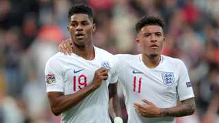 FILE - England's Marcus Rashford, Jadon Sancho and Bukayo Saka, not pictured, were subjected to vile racist abuse after missing their penalties in the Euro 2020 final against Italy. Photo: Luis Vieira/AP