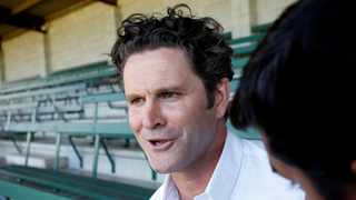 FILE - Former New Zealand cricketer Chris Cairns gives a news conference. Photo: Nigel Marple/Reuters
