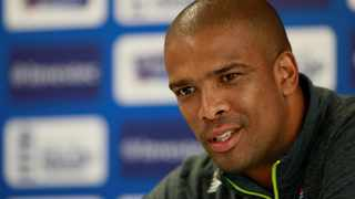 FILE - Former Proteas bowler Vernon Philander speaks during a press conference in 2017. Photo: Jason Cairnduff/Reuters