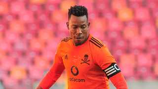 FILE - Happy Jele of Orlando Pirates. Photo: Deryck Foster/BackpagePix