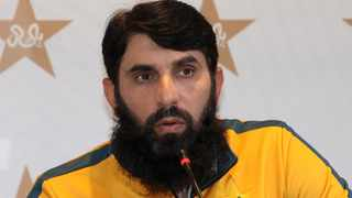 FILE - Misbah-ul-Haq has resigned as head coach of the Pakistan national cricket team, citing family concerns and bio-bubble restrictions. Photo: AFP