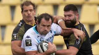 FILE - New signing Bismarck du Plessis has been included in the Bulls tour squad for the United Rugby Championship. Photo: Xavier Leoty/AFP