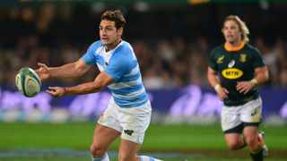 FILE - Nicolas Sanchez has been left out Argentina's team for Saturday's Rugby Championship clash against the Springboks in Gqeberha. Photo: Samuel Shivambu/BackpagePix