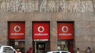 FILE PHOTO: A Vodacom branch in Cape Town, South Africa
